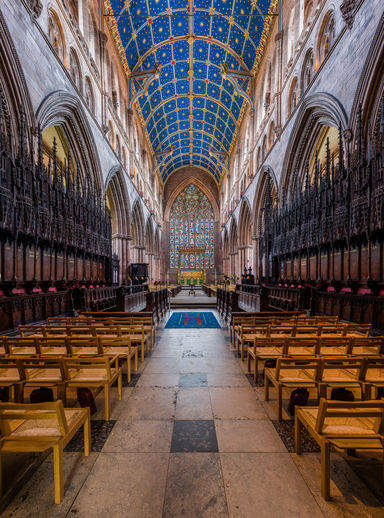 Carlisle Cathedral, Interior, image by Diliff